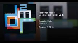 DEPECHE MODE - Personal Jesus (Alex Metric Remix)