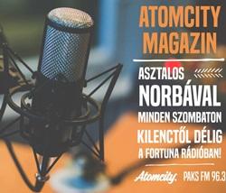 Atomcity magazin Norbával!